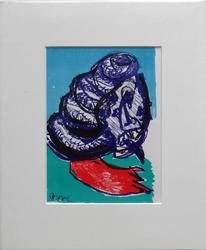 1964 KAREL APPEL LITHOGRAPH FROM ONE CENT LIFE