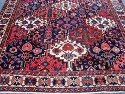 Enchanting 1950s Authentic Handmade Vintage Persian Akstafa