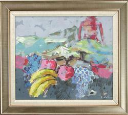 Splendid Original Oil By Andrea Martone