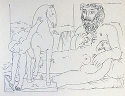 LATE ADDITION: PABLO PICASSO GRAVURE 1956