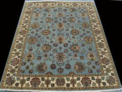 Simply Lovely Authentic Hand Woven Fine Silk Blend Persian-Pak Tabriz