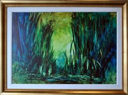 Sought After Original Khavarani Giclee On Canvas