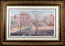 Certified Original Elizabeth Peak(American) Color Lithograph