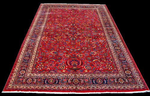 Quite Stunning Large Authentic Persian Mashhad 15.10x10.2