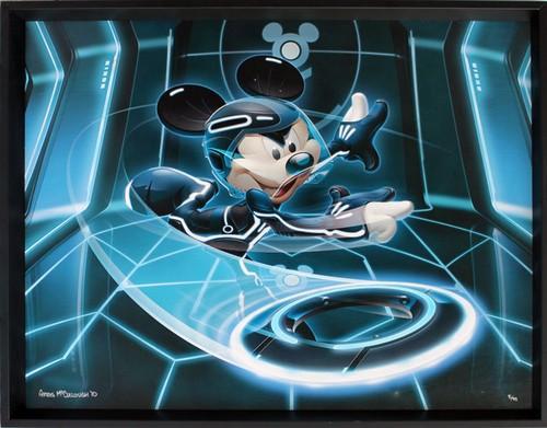 Greg Mccullough, Mickey Flynn Framed Canvas