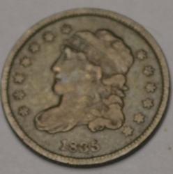 1835 Bust Half Dime