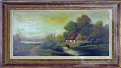 Vintage Original Oil Painting, Signed Lionel