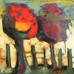 BEAUTIFUL COLOR PALETTE ORIGINAL BY ARCADIO BOYER