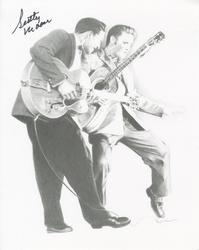 SCOTTY MOORE AUTOGRAPHED ELVIS 8X10 PHOTO & COA