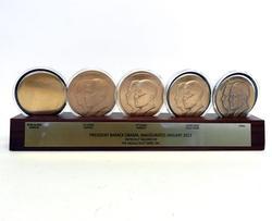 Rare Obama Inauguration Medal Creation Process Set