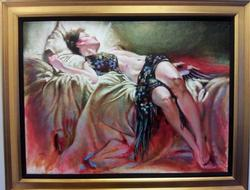 Edgar Barrios Original Oil, Signed