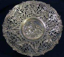 Amazingly Crafted Rare Silver Heavy Centerpiece