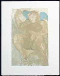 RARE DALI WOODBLOCK PRINT FROM 1964, DIVINE COMEDY