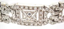 18kt White Gold Bracelet, 50 Grams of Gold!
