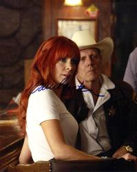 CARRIE PRESTON AUTOGRAPHED SIGNED TRUE BLOOD PHOTO