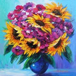 Yanah Korobov 'Beauty In A Vase' Acrylic