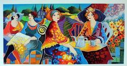 Patricia Govezensky Beautiful Serigraph