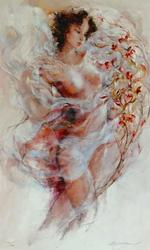 Stunning Gary Benfield Graceful Canvas