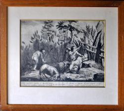 L'estate, Vintage Engraving