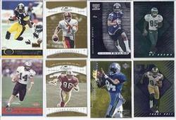 31 NUMBERED FOOTBALL CARDS W/ROOKIES