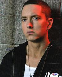 Eminem Slim Shady Autographed Signed 8x10 Poster Photo