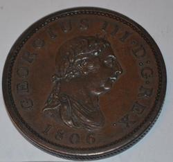 Sharp 1806 Great Britain Penny