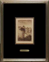 Camille Pissarro Etching Circa 1906