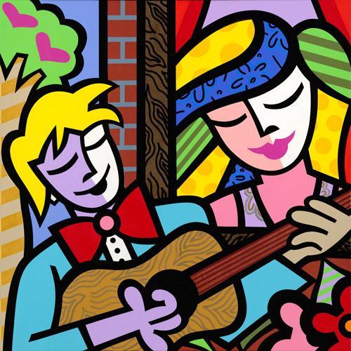 Colorful Artwork By Brazilian Born Jozza!