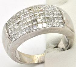 14kt Gold Men's 2.50 CTW Diamond Ring