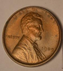 BU 1909 VDB Lincoln Cent