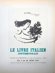 COLLECTIBLE VINTAGE CHAGALL LITHOGRAPH CIRCA 1959