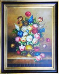 NICE  UNIQUE  HAND PAINTED OIL PAINTING ON CANVAS