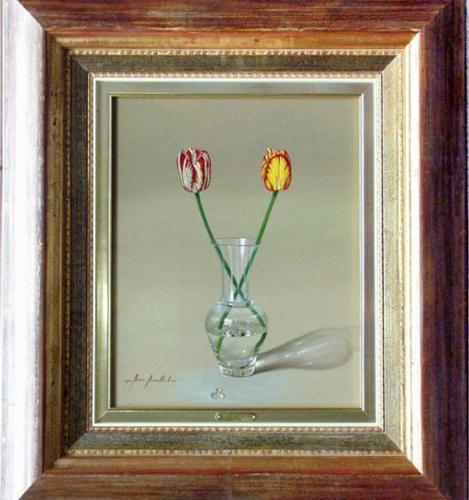 Original Marisa Mallol Still Life Oil On Canvas