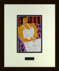 AMAZING HELIOGRAVURE BY HENRI MATISSE FROM 1948