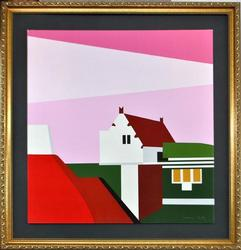 Spectacular Limited Edition Franco Costa Serigraph