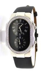 Ladies Philip Stein Teslar Dual Time Zone with Diamonds