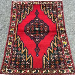 Rare Design Mid-20th C. Handmade Vintage Persian Mazleqan
