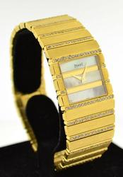Ladies Piaget 18kt Gold and 2.85 CTTW Diamond Watch