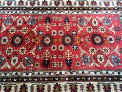 Very Important Rare 1950s Authentic Hand Woven Vintage Caucasian Rug