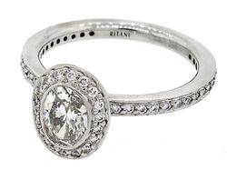 DAZZLING 1.35 CTW DIAMOND ENGAGEMENT RING