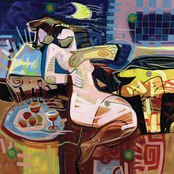Colorful and Detailed Zavaleta Giclee