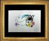 EXCEPTIONAL HAND SIGNED MIRO LITHOGRAPH