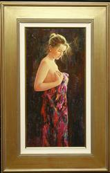 ROMAN FRANCES REFINED GICLEE OF SPANISH YOUNG GIRL