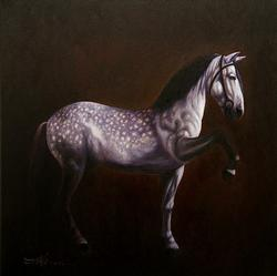 SIMPLY SPECTACULAR DETAIL SHOW HORSE BY MARIO JUNG