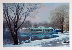 Amazing Alexander Chen Central Park Boathouse