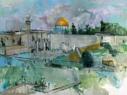Stunning Limited Edition Alex Zwarenstein, Jerusalem