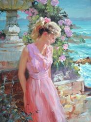 Vladimir Volegov Hand Embellished Afternoon Sunshine