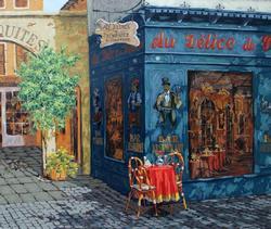 Viktor Shvaiko Amazing Hand Embellished Canvas