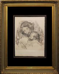 ONE OF THE MOST SOUGHT AFTER RENOIR LITHOGRAPHS