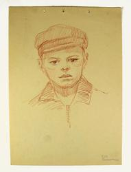 COLLECTIBLE RARE YAKOVLEVICH DRAWING FR.HIS ESTATE SALE